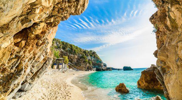 june. Griekenland - Korfoe