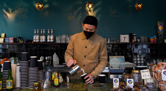 takeaway koffie
